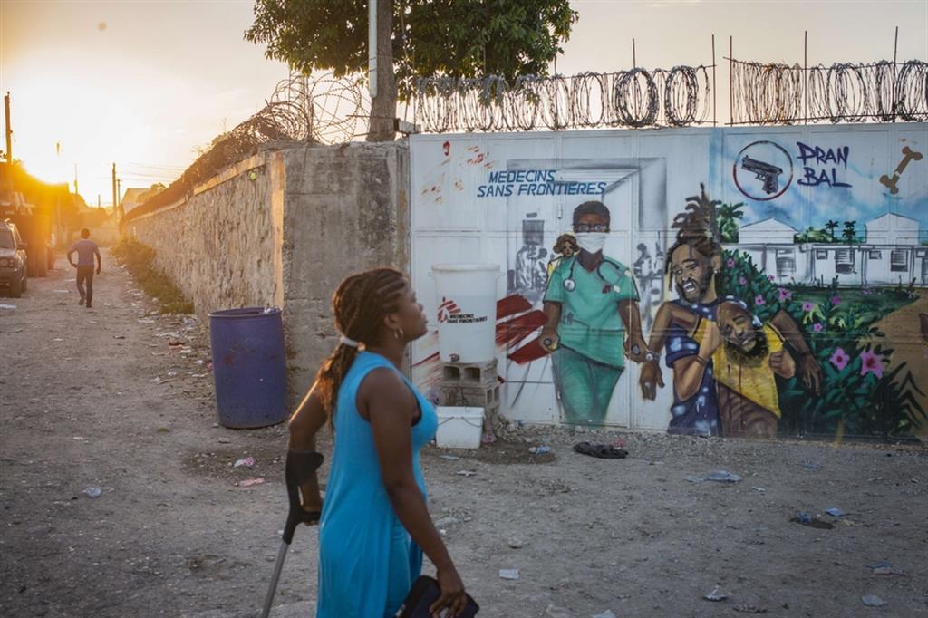 Haiti è uno dei 26 Paesi del Sud del mondo ancora senza vaccini - Guillaume Binet/MYOP – MSF France